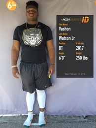 Vashon Watson Jr's Football Recruiting Profile
