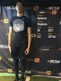 Kameron Stephens's Football Recruiting Profile