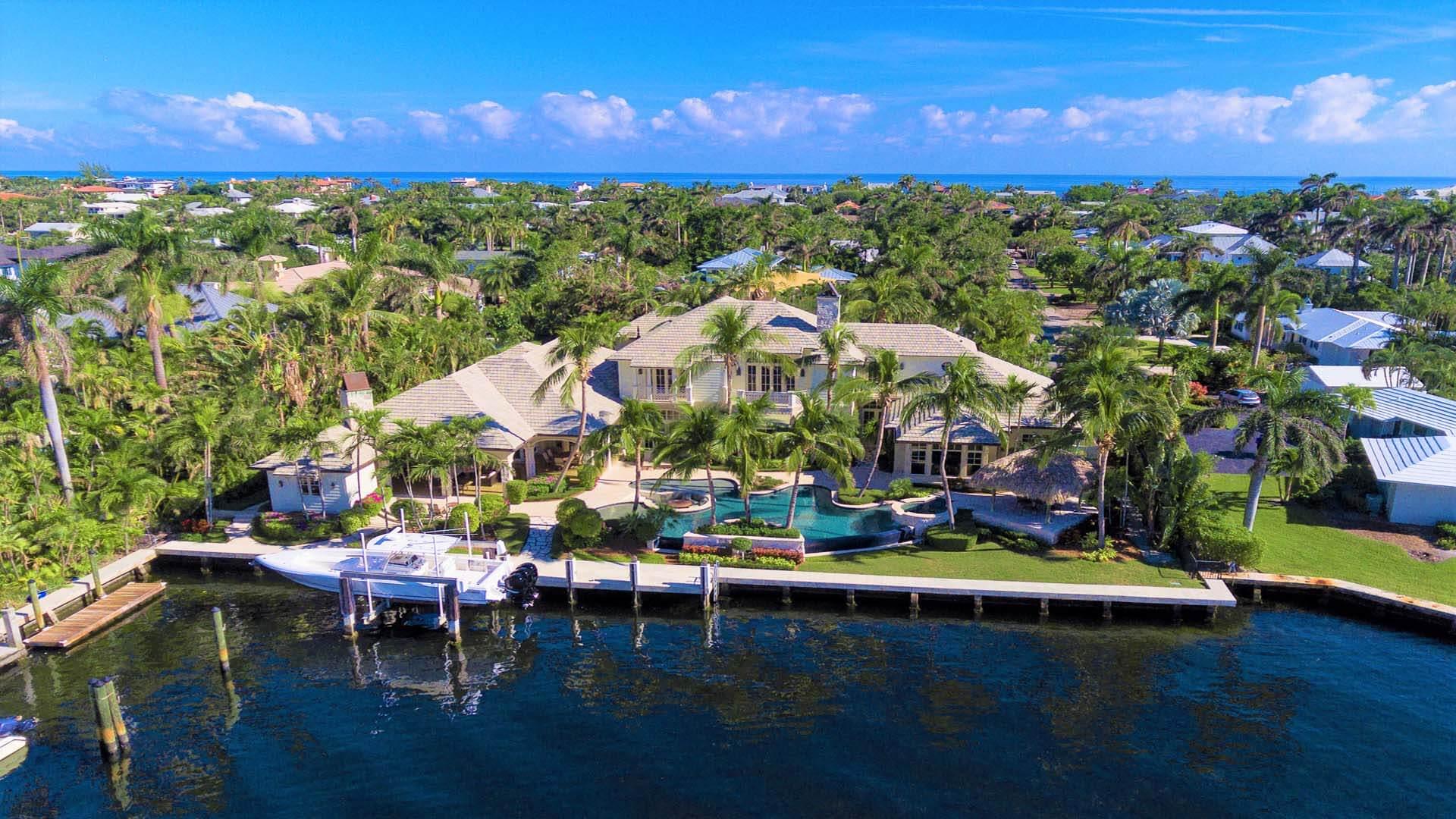 Waterfront Resort-Style Residence is East Delray Beach's Best Kept Secret