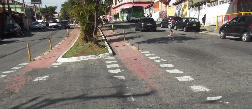 Ciclovia apagada na Brasilândia