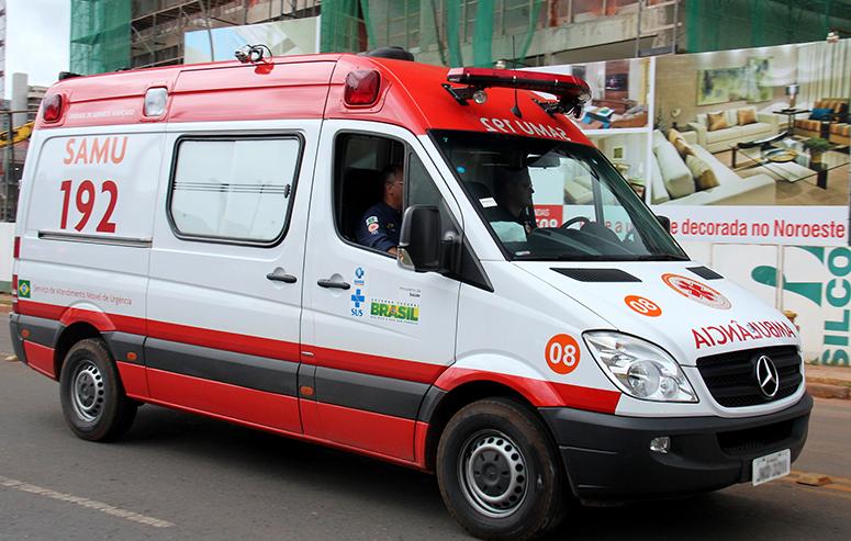 Samu possui uma ambulância para cada 100 mil habitantes em SP