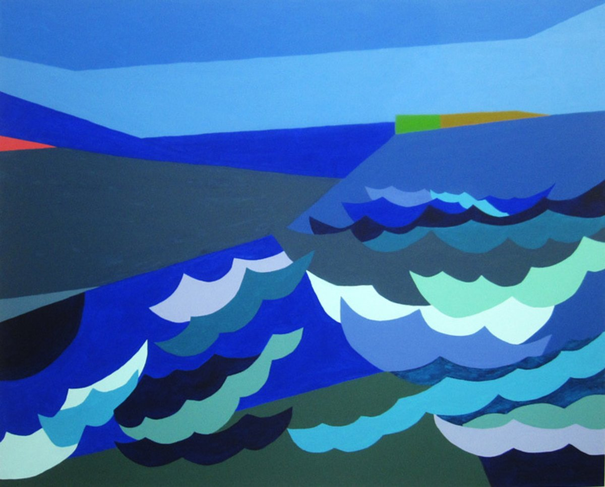 Patty Cateura, Windy Inlet, 2014