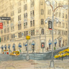 Elise Engler, Morris St. (Bowling Green/ Broadway Park )-Battery Place (May), 2014-15