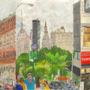 Elise Engler, Union Square South/W.14-13/13-12th Street (October/September), 2014-15