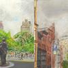 Elise Engler, W.19-18/18-17/Union Square (October), 2014-15