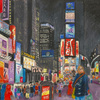 Elise Engler, W.46-45th Street (December), 2014-15