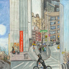 Elise Engler, Columbus Circle-W.59/59-58/58-57th Street (January), 2014-15