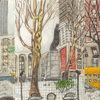 Elise Engler, W.65-64/64-63/63-62nd Street (January), 2014-15