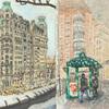 Elise Engler, W.74-73/73-72/72-71st Street (February), 2014-15