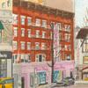 Elise Engler,  W.83-82/82-81/81-80th Street (March), 2014-15