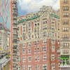 Elise Engler,  W.91-90/90-89/89-88th Street (April), 2014-15