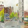 Elise Engler, W.106-105/105-104/104-103rd Street (May), 2014-15