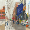 Elise Engler, W.135-134/134-133/133-132nd Street (February/March), 2014-15