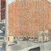 Elise Engler, Hamilton Pl. W.136th/136-135th Street (February), 2014-15