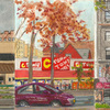 Elise Engler, W.151-150/150-149/149-148th Street (November), 2014-15
