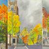 Elise Engler, W.155-153/153-152/152-151st Street (November), 2014-15