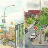 Elise Engler, W.190-189/189-187/187-186th Street (July), 2014-15