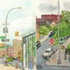 Elise Engler, W.190-189/189-187/187-186th Street (July), 2014-15