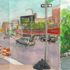 Elise Engler, Dyckman St to Thayer/Thayer to Auden Street (June), 2014-15