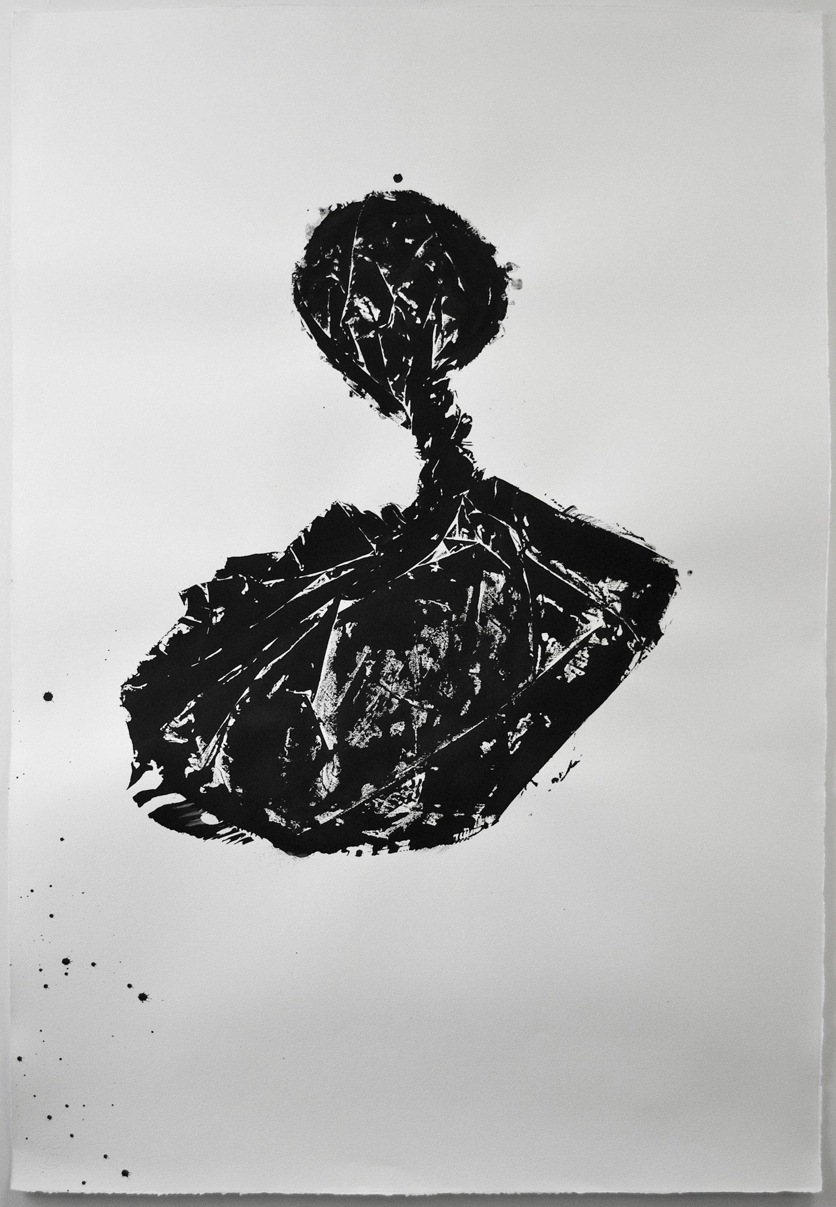 Liz Jaff, Black Magic Study 9, 2016