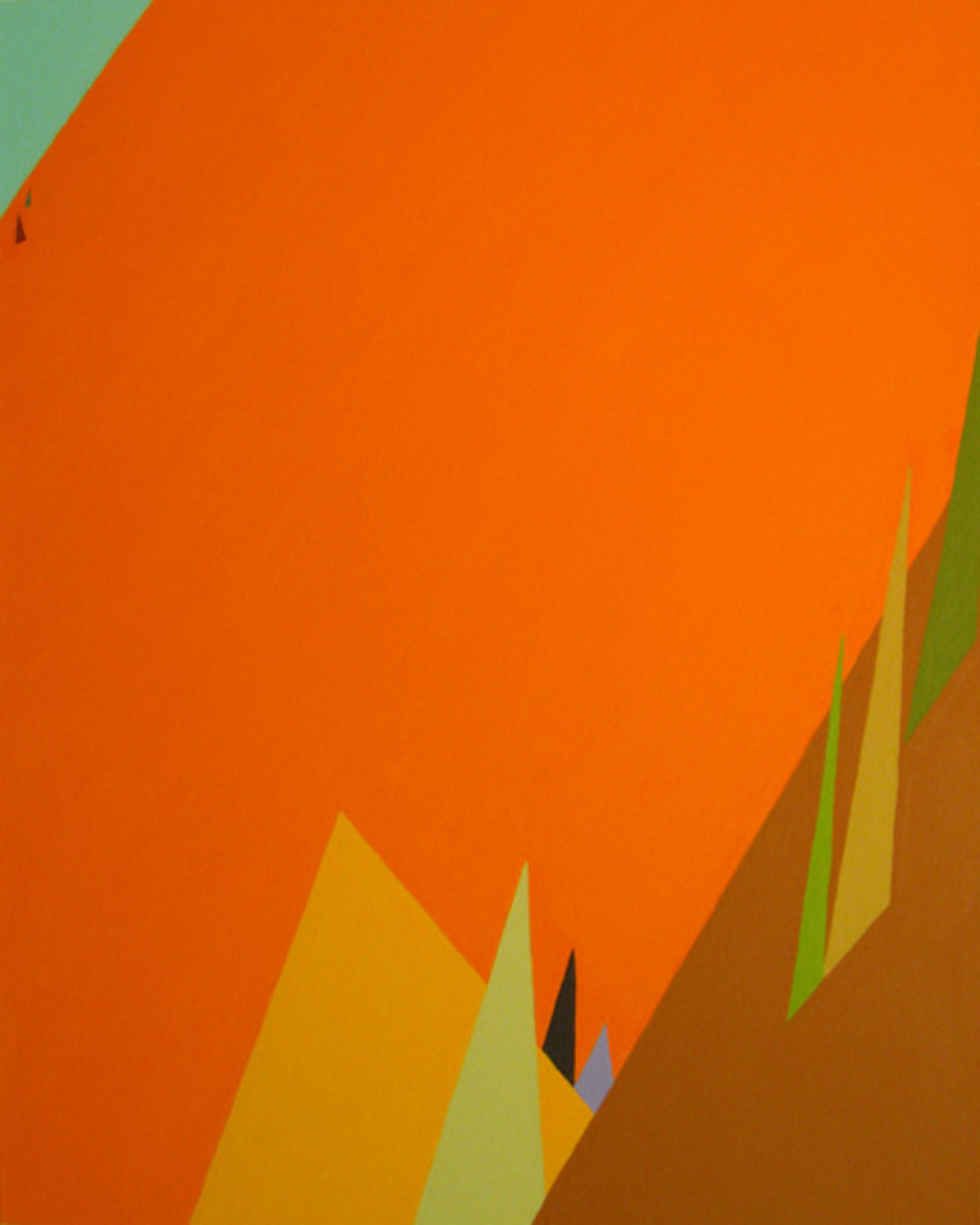 Patty Cateura, Mntns & Trees, 2010