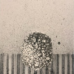 James Cullinane, Rain Drawing 5, 2017