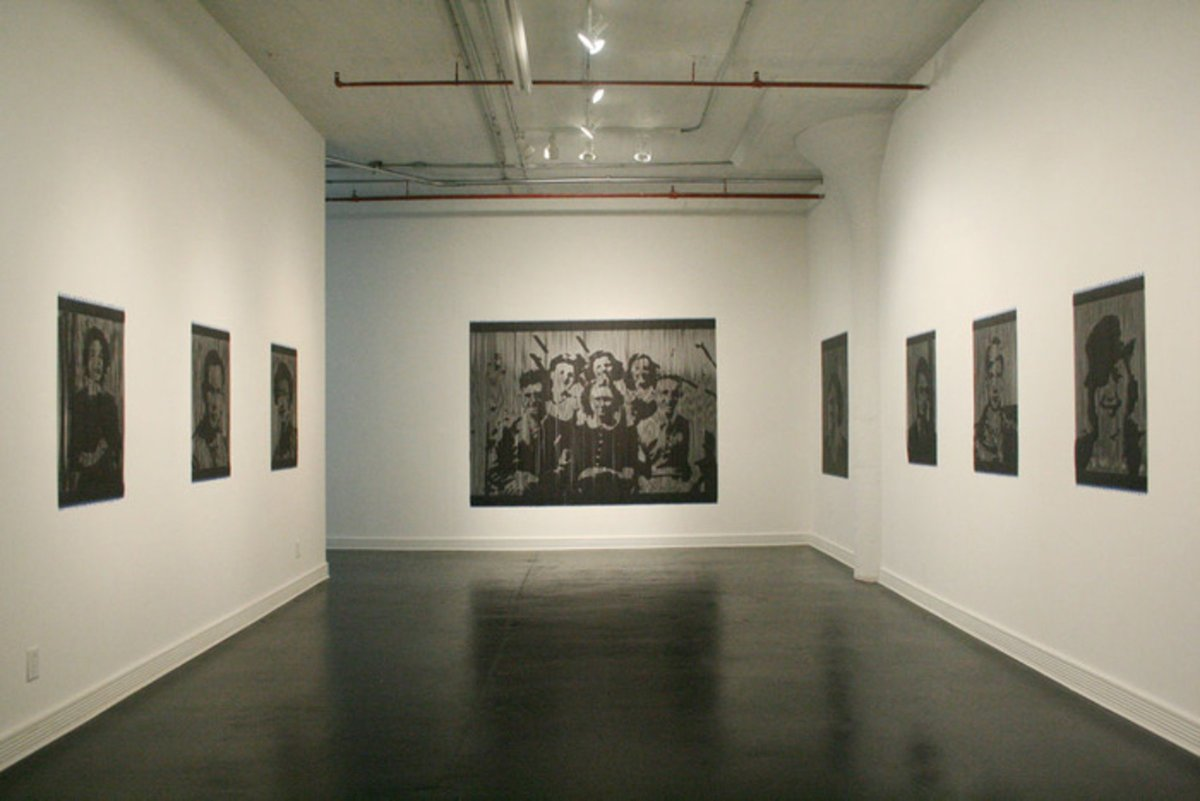 Henry Chung, Installation view at Sweet Lorraine Gallery,