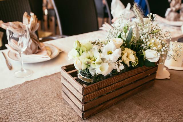 7 ideias de decoração para um casamento rústico impecável!