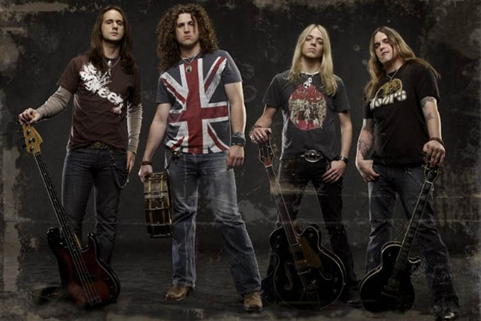 Black Stone Cherry Group Shot 1