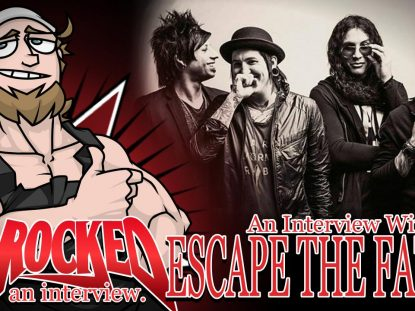 Escape The Fate Interview Thumbnail