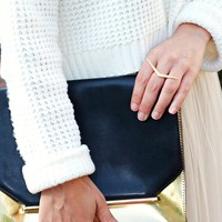User Generated Content for CC Skye Station Ring in Gold