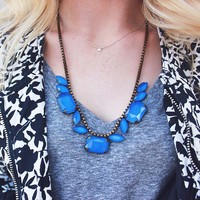 User Generated Content for Loren Hope Blythe Necklace in Cobalt