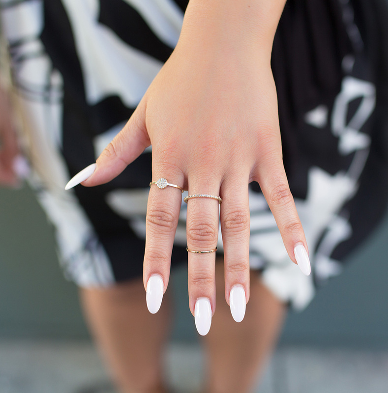 User Generated Content for Sophie Harper Pavé Circle Ring Set