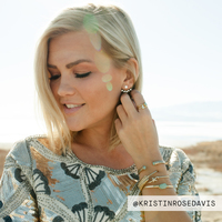 User Generated Content for Wanderlust + Co Crystal Gold Ear Jacket