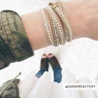 User Generated Content for Nakamol Brown and Silver Leather Wrap Bracelet