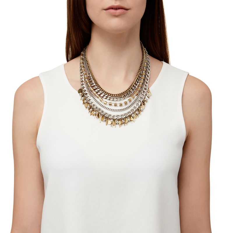 Model Content for Jenny Bird Talitha Collar Necklace