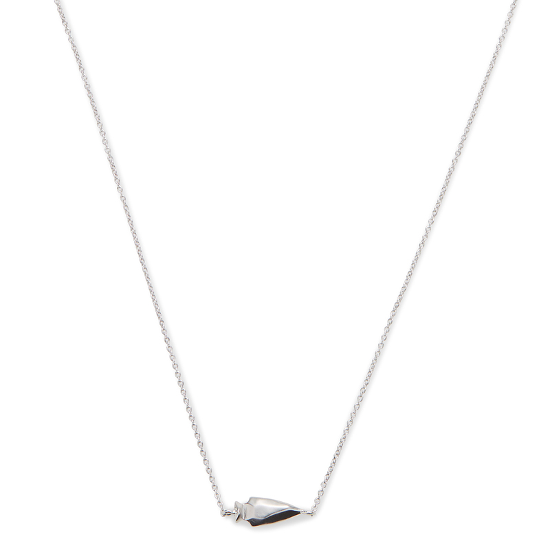 Kendra Scott Steph Necklace in Silver