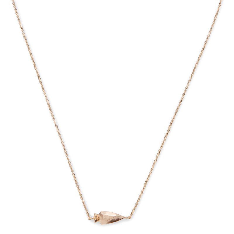 Kendra Scott Steph Necklace in Rose Gold