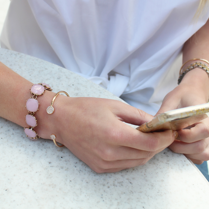 User Generated Content for Perry Street Jacqueline Stone Bracelet