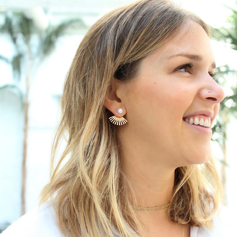 User Generated Content for SLATE Fan Back Pearl Ear Jackets