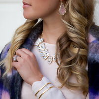 User Generated Content for Perry Street Gwenyth Necklace in White