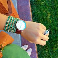 User Generated Content for Nakamol Chain Wrap Bracelet in Teal