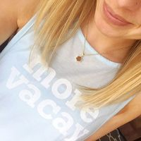 User Generated Content for Elise M Selene Necklace in Rose Gold Druzy