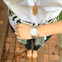 User Generated Content for Kendra Scott Layden Necklace in Peach Illusion