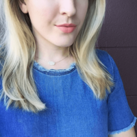 User Generated Content for Kendra Scott Elisa Necklace in Iridescent Drusy
