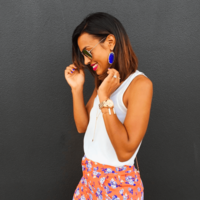 User Generated Content for Kendra Scott Elle Earrings in Cobalt
