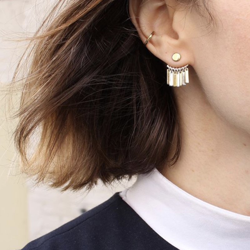 User Generated Content for Jenny Bird Raya Ear Jacket in Gold and Silver
