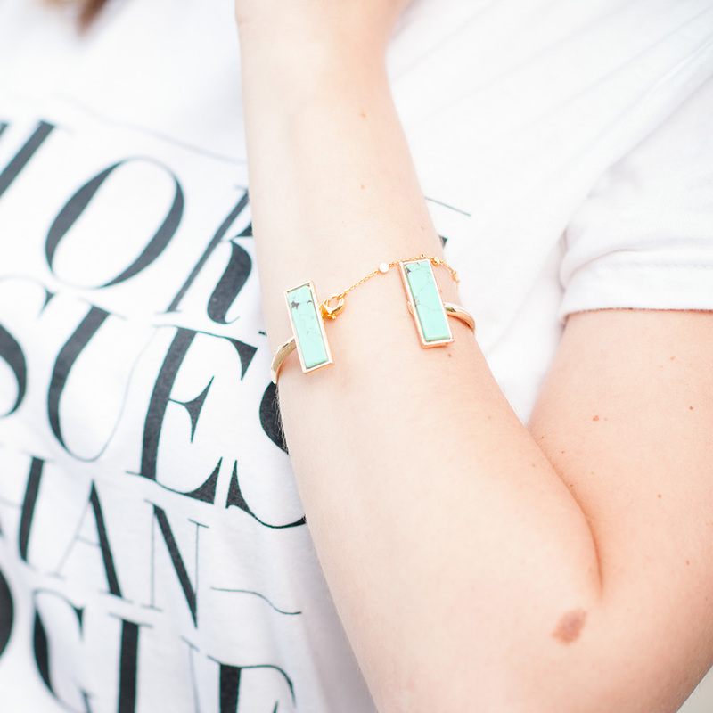 User Generated Content for SLATE Rhiannon Cuff in Turquoise