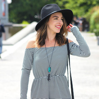 User Generated Content for Kendra Scott Rayne Necklace in Teal Magnesite
