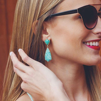 User Generated Content for Kendra Scott Carey Earrings in Amazonite